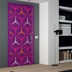 Fuschia Orange Door designs